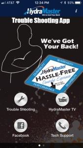 HYdraMaster Truckmount Support App